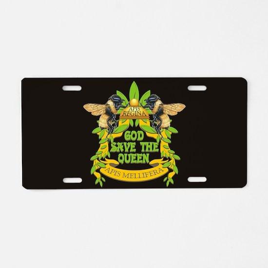 Cute Regina Aluminum License Plate