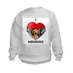 St Valentines Hounds - WWT Kids Sweatshirt
