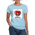 St Valentines Hounds - WWT Women's Light T-Shirt