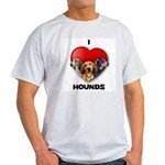 St Valentines Hounds - WWT Light T-Shirt