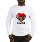 St Valentines Hounds - WWT Long Sleeve T-Shirt