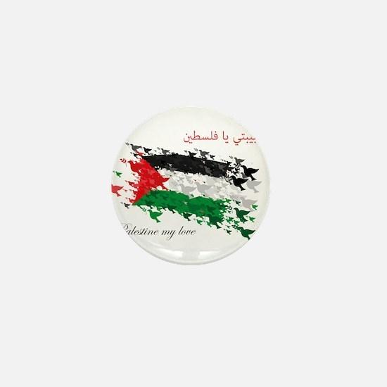 Arabic palestine Mini Button