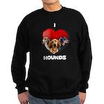 St Valentines Hounds - BWT Sweatshirt (dark)