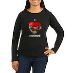 St Valentines Hounds - BWT Women's Long Sleeve Dar