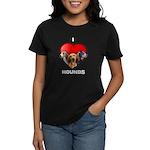 St Valentines Hounds - BWT Women's Dark T-Shirt