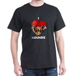 St Valentines Hounds - BWT Dark T-Shirt