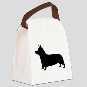 Pembroke Welsh Corgi Canvas Lunch Bag