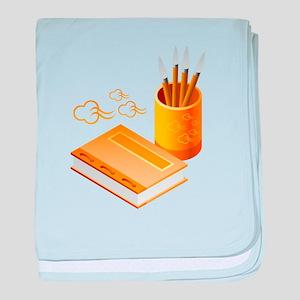 Writer's Corner baby blanket