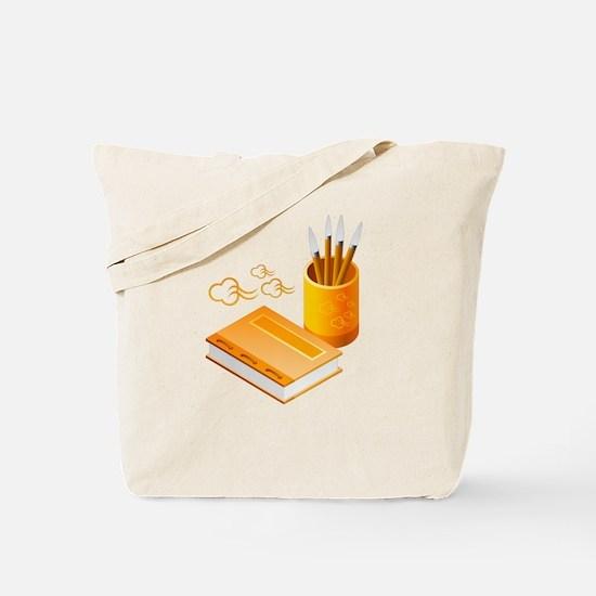 Writer's Corner Tote Bag