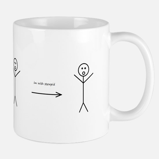 Funny stick figures Mug
