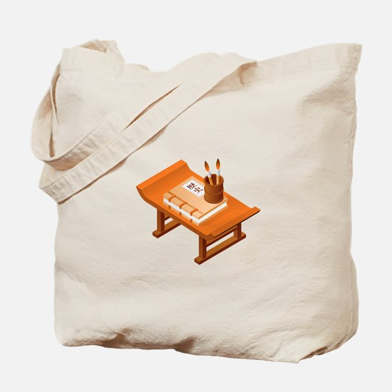 Chinese Book Tote Bag