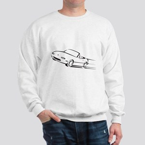 Japanese Cute Roadster Line Sweatshirt