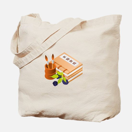 Paints and Fruit Tote Bag