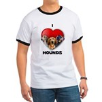 St Valentines Hounds - WWT Ringer T