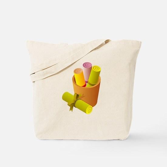Scrolls Tote Bag
