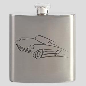 Italian Graduate Line Flask