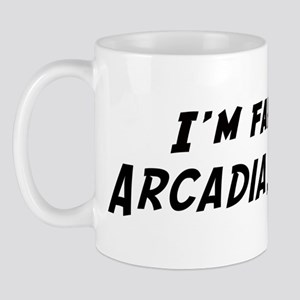 Famous in Arcadia Mug