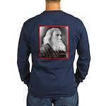 Lysander Spooner Long Sleeve Dark T-Shirt