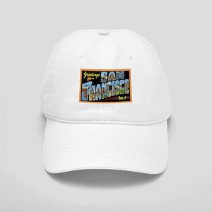 San Francisco California Greetings Cap