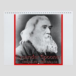Lysander Spooner Wall Calendar