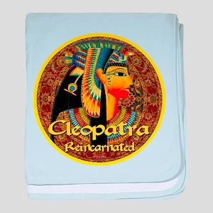 Cleopatra Reincarnated Persian Carpet baby blanket