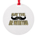 May the stache be with you Ornament