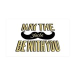 May the stache be with you Wall Decal