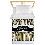 May the stache be with you Twin Duvet