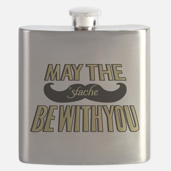 May the stache be with you Flask
