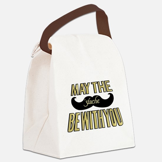 May the stache be with you Canvas Lunch Bag