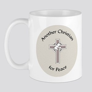 Another Christian for peace Mug