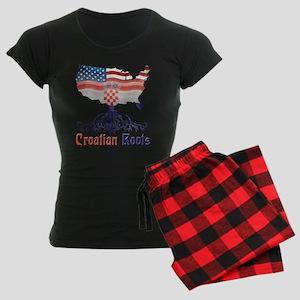 American Croatian Roots Pajamas