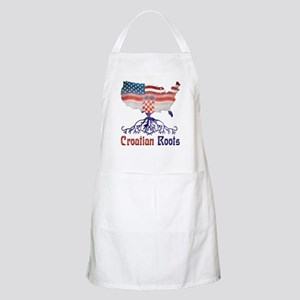 American Croatian Roots Apron