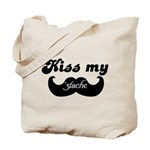 Kiss my stache Tote Bag