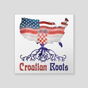 American Croatian Roots Sticker