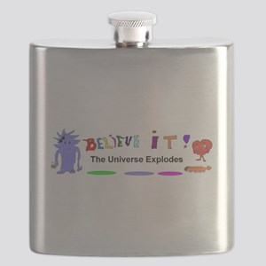 Believe It Universe Explodes Flask