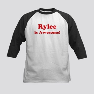 Rylee is Awesome Kids Baseball Jersey