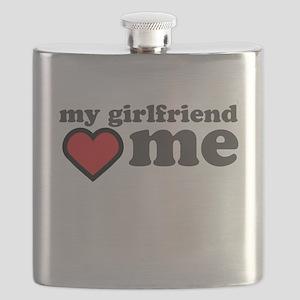 My Girlfriend Loves Me Flask