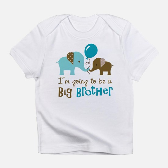Cute I%27m going to be a big brother Infant T-Shirt