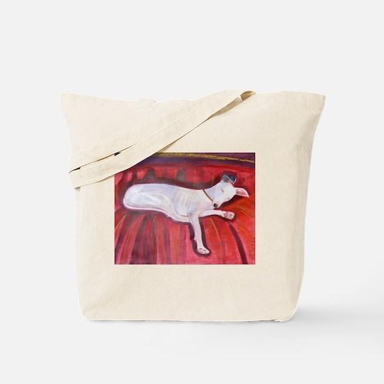 An Italian Greyhound Tote Bag