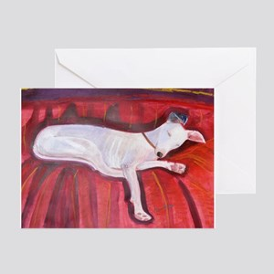 An Italian Greyhound Greeting Cards (Pk of 10)