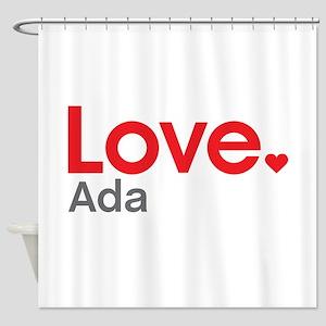 Love Ada Shower Curtain