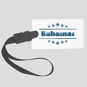Bahamas Large Luggage Tag