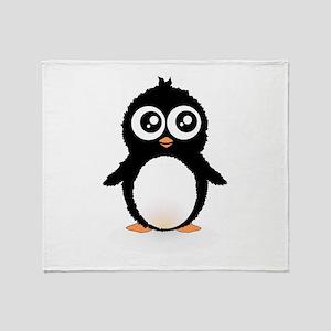 Cute penguin Throw Blanket
