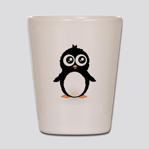 Cute penguin Shot Glass