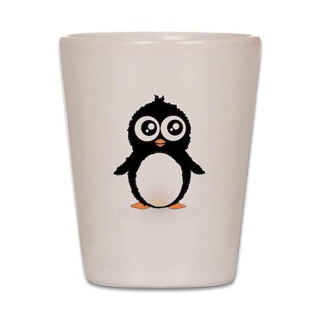 Cute penguin Shot Glass