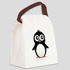 Cute penguin Canvas Lunch Bag