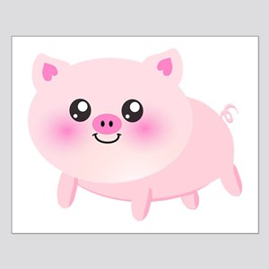 cute pig Posters