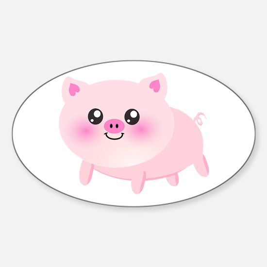 cute pig Decal