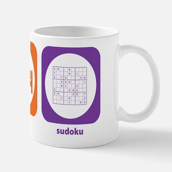 Eat Sleep Sudoku Mug